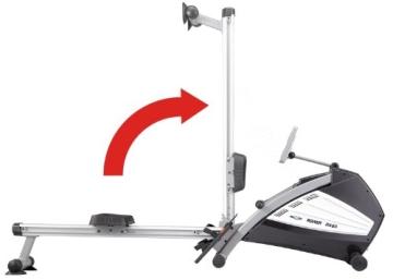 Ruderergometer MAXXUS RX 8.1 - Kombinierter Luft- Magnetantrieb, besonders leise - mit 5 Jahren Garantie