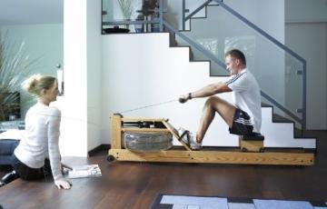 Water Rower Rudergerät Esche mit S4 Leistungsmonitor